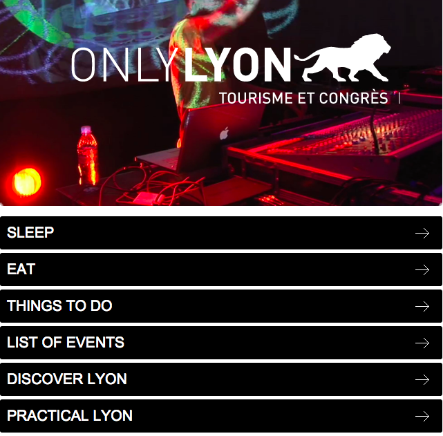 Only Lyon Website